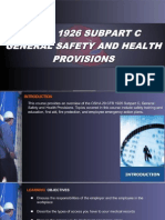 OSHA 10 Slides 02 - General Safety and Health Provisions