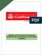 Manual de Políticas de Tasas de Intereses