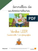 Cuadernillos Lectoescritura LEER 1 ARASAAC Soyvisual Con Fotos