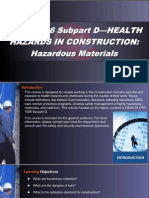 OSHA 10 Slides 04 - Hazardous Materials