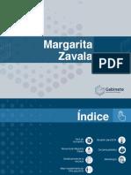 Margarita, independiente, supera al PAN, PRD, MC y PRI, según encuesta difundida por Felipe Calderón