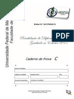 revalida UFMT 2015