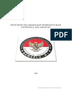 2. PDF.pedoman Pembentukan Panwaslu Kecamatan Pada Pemilihan Umum Serta Pemilihan Gubernur Dan Wakil Gubernur