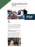 El Juez Bonadio Citó a Indagatoria a Cristina Kirchner Por El Supuesto Encubrimiento Del Atentado a La AMIA