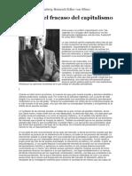 Ludwig Von Mises - El Mito Del Fracaso Del Capitalismo