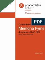 Memoria Pyme 2017