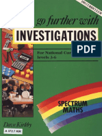 Go Further With Investigations for National Curriculum Levels 3-6