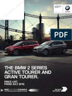 BMW 2 Series Active Tourer and Gran Tourer 2017 Brochure