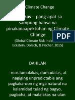 Aralin 1c - Climate Chnge