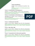 bibliografia genetica.