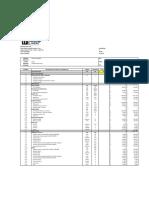 Itemizado de valores bases para proyectos de construcción