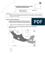 Evaluación  Los Aztecas