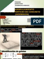 HORMIGON RESQUEBRAJAMIENTO CONCRETO