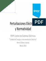 1_Perturbaciones Eléctricas