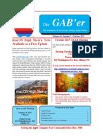 GAABer October 2017