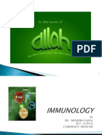 Immunology PSM by Dr.muneeba