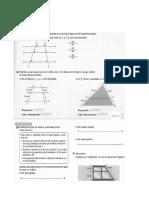 Taller de Geometría 9º Teorema de Thales
