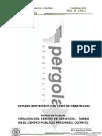 01.00 Informe de Suelos Progreso-Huanuco