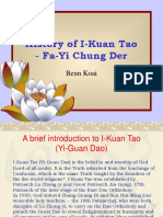History of I Kuan Tao Part I (Benn Koai)