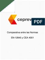 Comparativa Normas CEA4001 EN12845