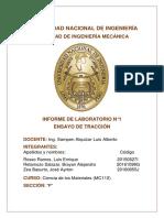 Informe TRACCION