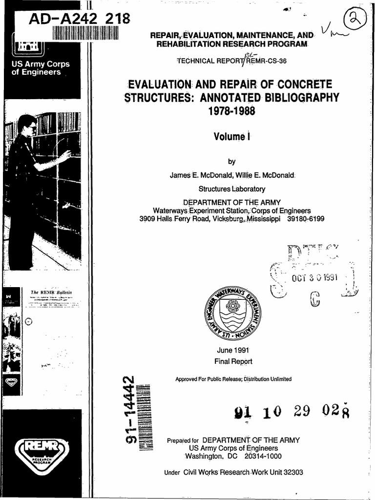 A 242218 | Prestressed Concrete | Corrosion