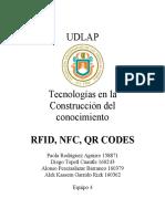 RFID, NFC, QR CODES