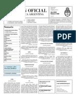 Boletin Oficial 13-08-10 - Segunda Seccion
