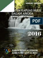 Kapuas Hulu Dalam Angka 2016