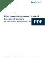 IMS Global Information Assurance Framework - Executive Summary Ver 1.0