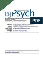 ARTIGO - HOWARD & THORNICROFT - Psychosocial Characteristics and Needs of Mothers With Psychotic Disorders