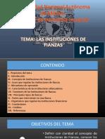 Las Instituciones de Fianzas