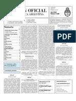 Boletin Oficial 19-08-10 - Segunda Seccion