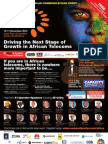 Africa COM 2010 Main Brochure