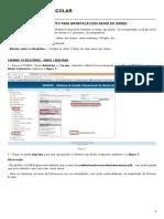 Procedimento Para Importação Dos Dados Do Sisgesc