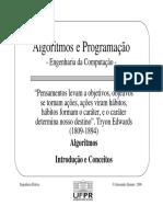Algoritmos e programacao