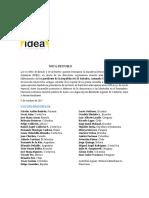 Nota de Duelo IDEA por el fallecimiento de Armando Calderón Sol