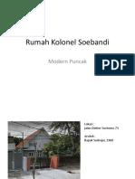 Rumah Kolonel Soebandi