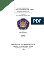 Laporan Praktikum Pemasangan Kabel Telepon