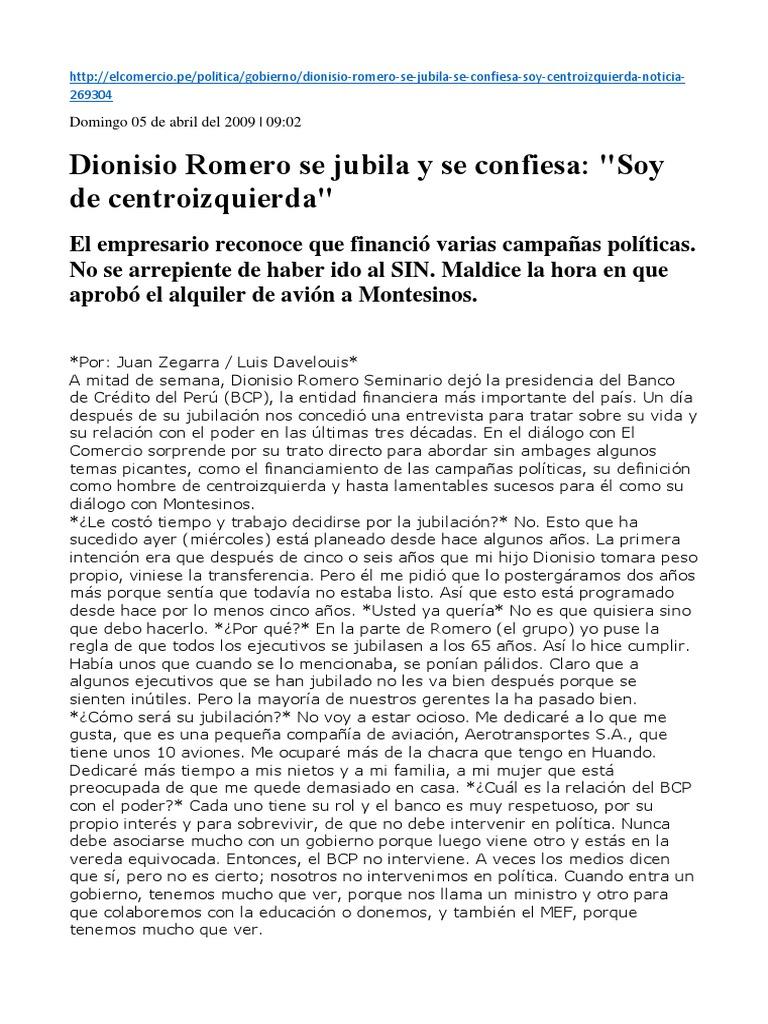Dionisio Romero a3a27dfe8c0