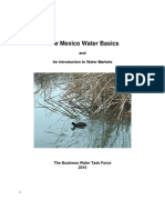 New Mexico Water Basics and An introduction to water markets
