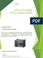 Programa en El Equipo PLC y Robótica KUKA