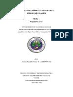 Laporan Pemrograman Berorientasi Objek P