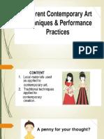 Different Practices