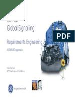 Global Rail Signaling-Requiremens Engineering