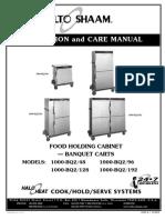2011_9_15 Manual de Operaciones Conservadora Caliente Alto-Shaam (Carro) Modelo 1000-BQ2 48 y 1000-BQ2 96
