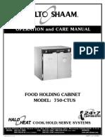 2011_9_15 Manual de Operacion Conservadora Caliente Alto-Shaam Modelo 750 CTUS
