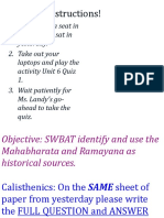 Mahabharata and Ramayana Weebly
