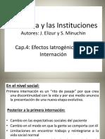7 - MINUCHIN - Cap. 4 - Efectos Iatrogenicos de La Internacion