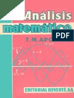 Análisis Matemático Tom M. Apostol